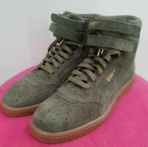 Puma Shoes - High top puma contact